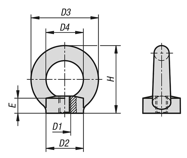 Kipp Matice S Okem Podobne Din 582